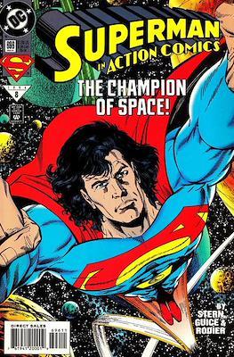 Action Comics Vol. 1 (1938-2011; 2016-) (Comic Book) #696