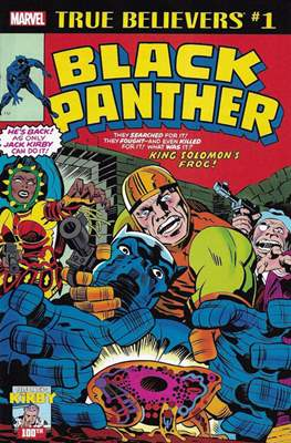 True Believers Kirby 100th Black Panther