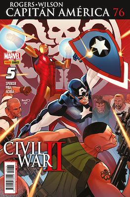 Capitán América Vol. 8 (2011-) (Grapa) #76