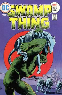 Swamp Thing (1972 1st Series) (Comic Book. 1972 - 1976) #17