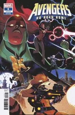 Avengers: No Road Home (Variant Cover) (Comic Book) #8