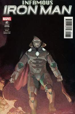 Infamous Iron Man Vol. 1 (Variant Covers) #1.6