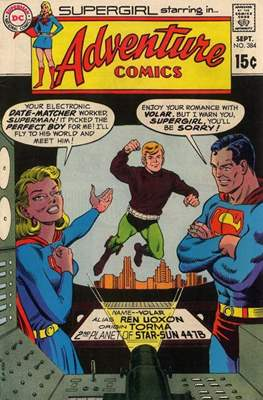 New Comics / New Adventure Comics / Adventure Comics (1935-1983; 2009-2011) (Saddle-Stitched) #384