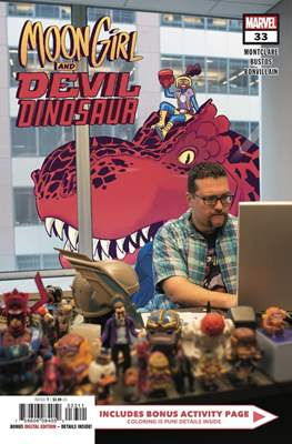Moon Girl and Devil Dinosaur (Comic-book) #33