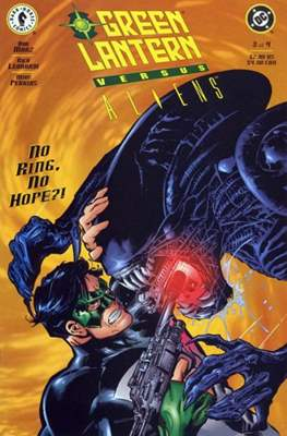 Green Lantern versus Aliens (Grapa) #3