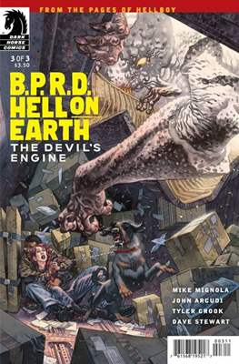 B.P.R.D. Hell on Earth: The Devil's Engine (Comic Book) #3