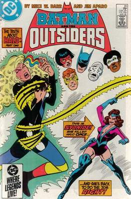 Batman and the Outsiders (1983-1987) (Comic Book) #20