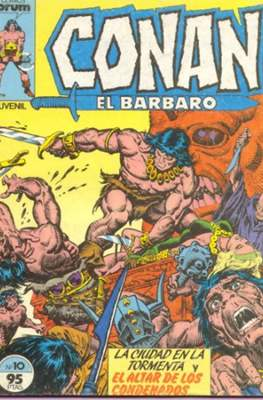 Conan el Bárbaro (1983-1994) (Grapa. 19x27. 36/32/24 páginas. Color.) #10
