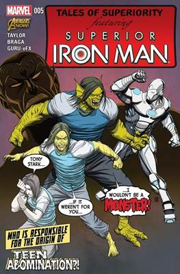 Superior Iron Man (Comic-Book) #5