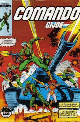 Comando G.I.Joe (Grapa. 19x27. 32 páginas. Color.) #1
