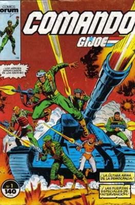 Comando G.I.Joe (Grapa 32 pp) #1
