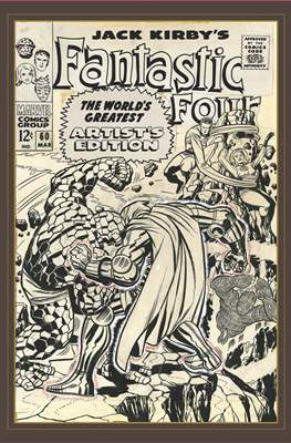 Jack Kirby's Fantastic Four World's Greatest Artist's Edition