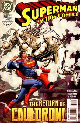 Action Comics Vol. 1 (1938-2011; 2016-) (Comic Book) #731