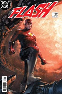 The Flash Vol. 5 (2016- Variant Cover) (Comic Book) #750.3