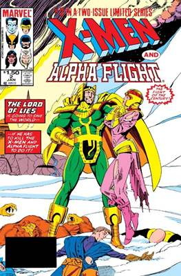 X-Men / Alpha Flight (Comic Book) #2