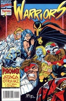 The New Warriors vol. 2 (1995) (Rústica. 17x26. 96 páginas. Color. (1995).) #3