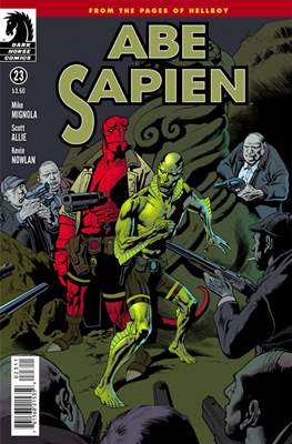 Abe Sapien (Comic Book) #33