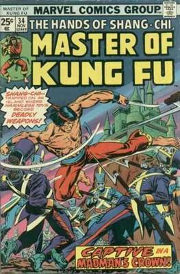 Master of Kung Fu (Comic Book. 1974 - 1983. Continued from Special Marvel Edition #16) #34