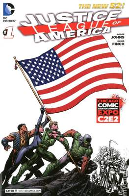 Justice League of America Vol. 3 (2013-2014) Variant Covers
