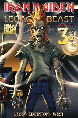 Iron Maiden: Legacy of the Beast - Night City (Comic Book) #3