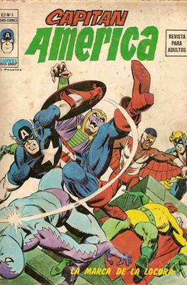 Capitán América Vol. 2 (Grapa. 1974-1975) #5