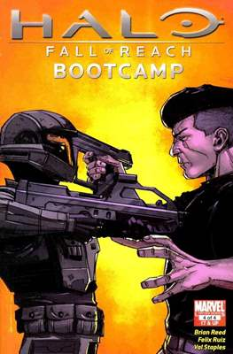 Halo Fall of Reach - Bootcamp (Comic Book 24 pp) #4