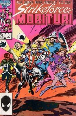 Strikeforce Morituri (Comic-book.) #3