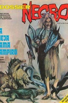 Dossier Negro (Rústica y grapa [1968 - 1988]) #57