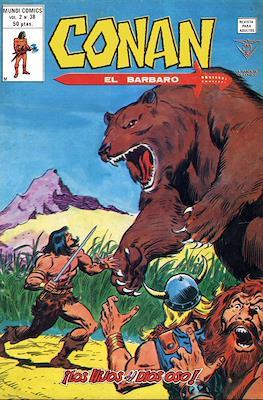 Conan el Bárbaro Vol. 2 (Grapa) #38