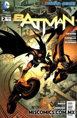 Batman (2012-2017) (Grapa) #2