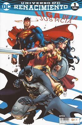 Liga de la Justicia. Nuevo Universo DC / Renacimiento. Portadas alternativas #49