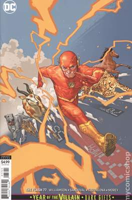 The Flash Vol. 5 (2016- Variant Covers) (Comic Book) #77