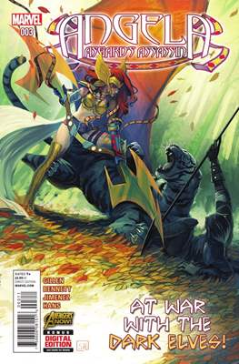 Angela: Asgard's Assassin Vol 1 (Comic book) #3