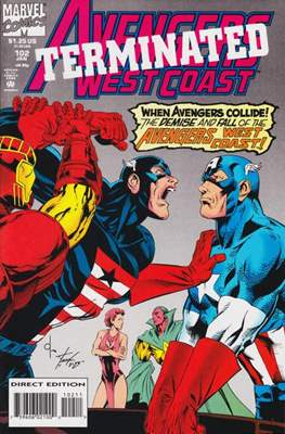 West Coast Avengers Vol. 2 (Comic-book. 1985 -1989) #102