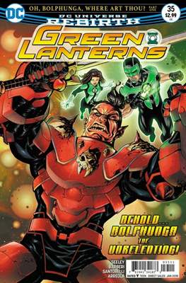 Green Lanterns Vol. 1 (2016-2018) (Comic-book) #35