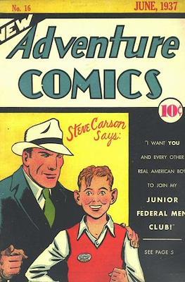 New Comics / New Adventure Comics / Adventure Comics (1935-1983 ; 2009-2011) (Comic Book) #16