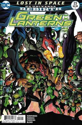 Green Lanterns Vol. 1 (2016-2018) (Comic-book) #23