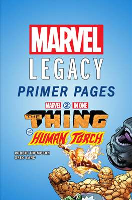 Marvel Two-in-One: Marvel Legacy Primer Pages