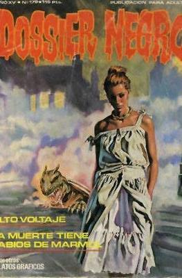 Dossier Negro (Rústica y grapa [1968 - 1988]) #179