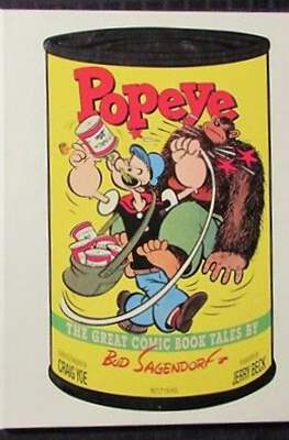 Popeye: The Great Coming Book Tales by Bud Sagendorf