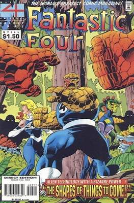 Fantastic Four Vol. 1 (1961-1996) (saddle-stitched) #403
