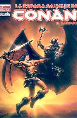 La Espada Salvaje de Conan el Bárbaro. Edición coleccionistas (Rústica 64 pp) #34