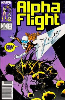 Alpha Flight Vol. 1 (1983-1994) (Comic Book) #47