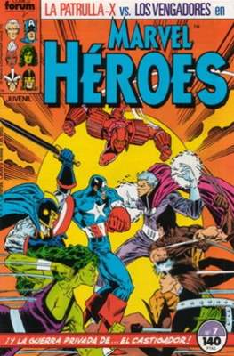 Marvel Héroes (1986-1993) (Grapa 32 pp) #7