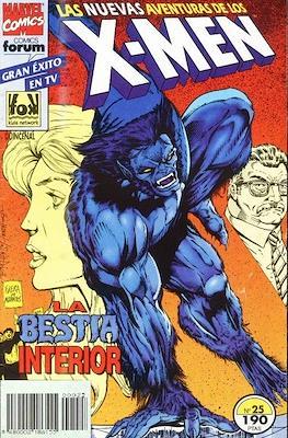 Las nuevas aventuras de los X-Men (Grapa 24 pp) #25