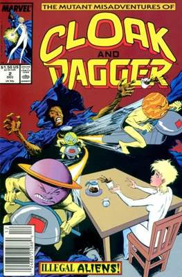 Cloak and Dagger Vol. 3 (1988-1991) (Comic-book.) #2