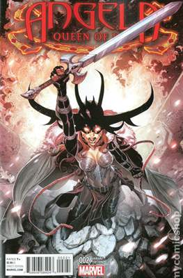 Angela: Queen of Hel (Variant Cover) #2