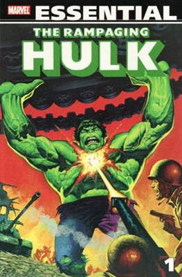 Marvel Essential: The Rampaging Hulk (Softcover 584 pp) #1