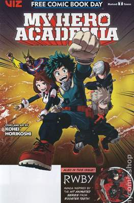 My Hero Academia and RWBY - Free Comic Book Day