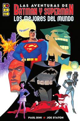 Las aventuras de Batman y Superman: Los mejores del mundo (Rústica 64 pp)